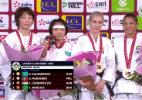 Sarah Menezes comprova recuperação e leva segunda medalha no ano
