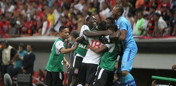 Jogadores do Vasco não sabem o que é perder há cinco meses, ou 17 jogos