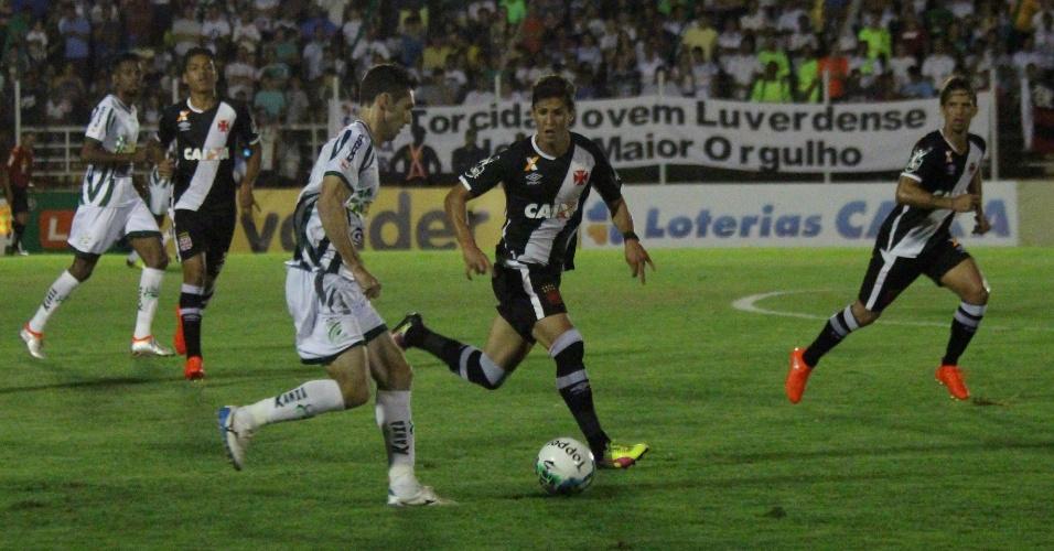 Luverdense e Vasco da Gama medem forças pela Série B do Campeonato Brasileiro