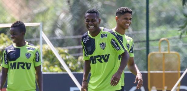 Robinho, atacante do Atlético-MG