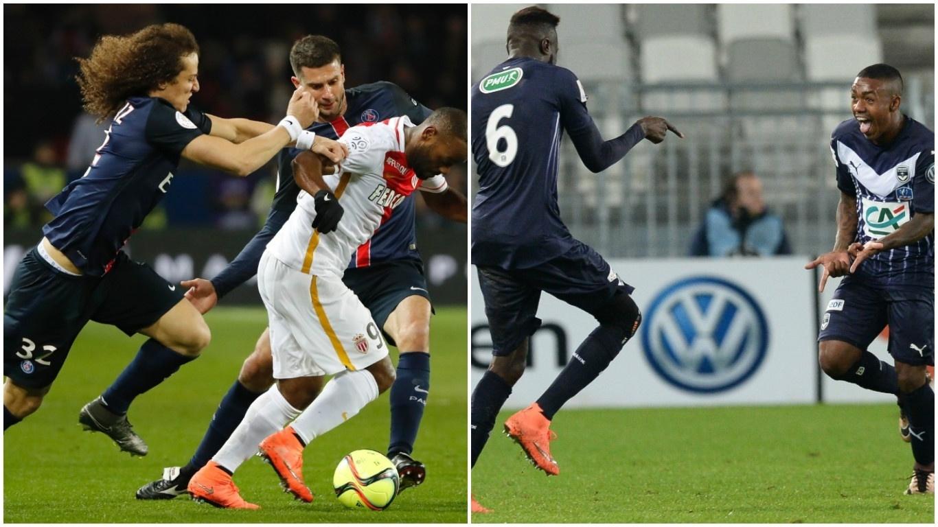 Vagner Love e Malcom foram campeões juntos pelo Corinthians, mas agora são rivais na França