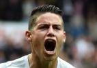 """""""A troca de técnico foi boa para todos"""", diz James após vitória do Real - AFP / GERARD JULIEN"""