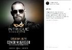 Conor McGregor reserva boate para festa após UFC 200