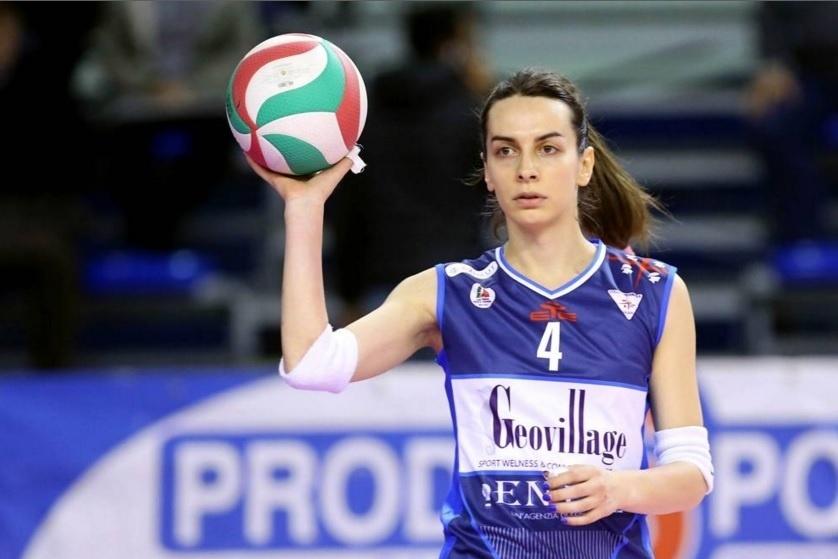 Alessia Ameri, jogadora italiana transgênero de vôlei