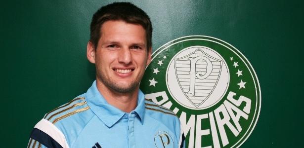 Vagner, novo goleiro do Palmeiras