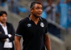 """Roger admite jogo fraco do Grêmio em derrota no PR: """"Pouca coisa boa"""" - Lucas Uebel/Grêmio"""