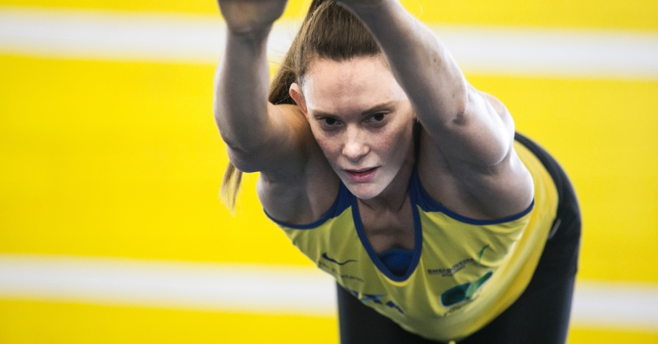 Fabiana Murer - especial dia de atleta