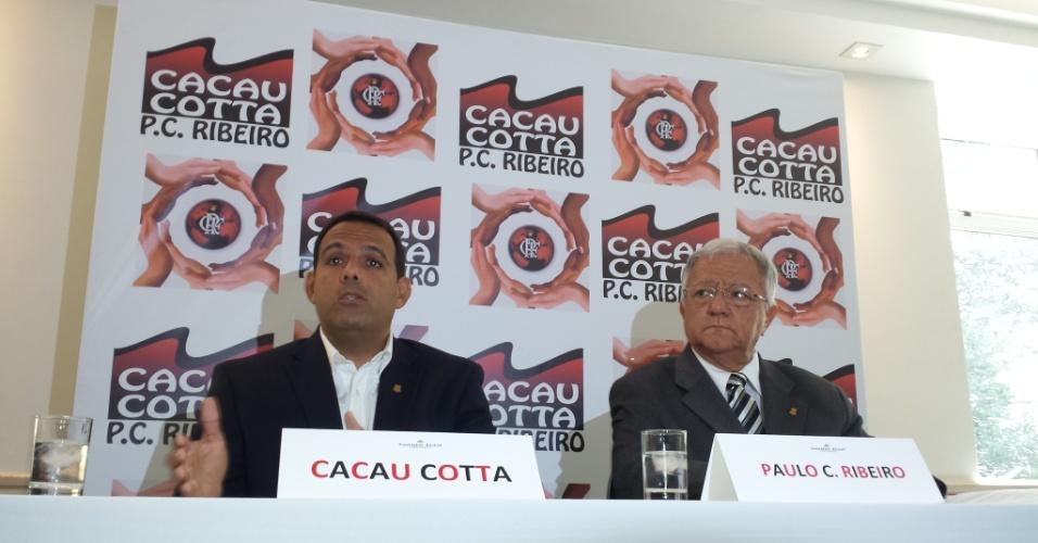 Cacau Cotta lança chapa para concorrer ao cargo de presidente do Flamengo