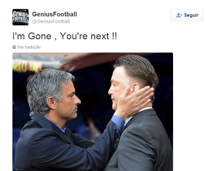 Sobrou até para Louis Van Gaal, treinador do Manchester United, também em crise.