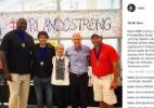 Com o governador da Flórida, Kaká visita vítimas do massacre em Orlando