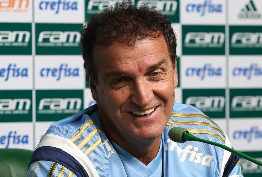 Contrato de Cuca com o Palmeiras vai até dezembro de 2016