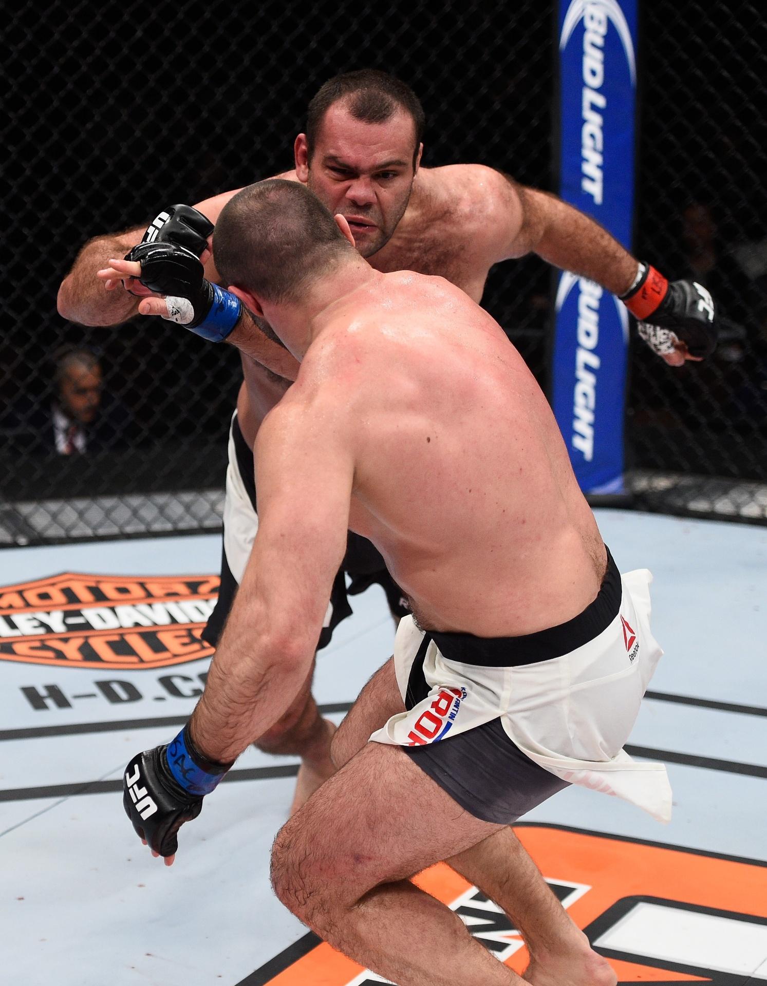 Gabriel Napão venceu no TUF 22 Finale e afastou risco de ser demitido do UFC