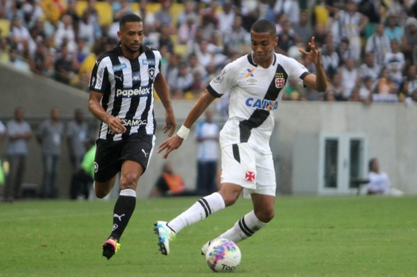 No primeiro jogo das finais, o Vasco derrotou o Botafogo por 1 a 0