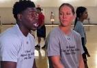 Jogador deu um tempo na NBA por drama da mulher, bicampeã olímpica - Reprodução/Twitter