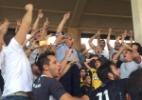 Eurico sobre banheiro quebrado por torcida em SJ: 'O Flamengo vai pagar'