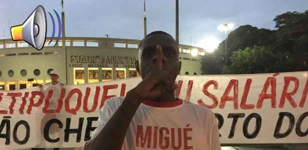 protesto-da-torcida-do-sao-paulo-contra-michel-bastos-1456359965044_615x300 Alvo de apitos, M. Bastos marca e São Paulo vence em jogo com estádio vazio