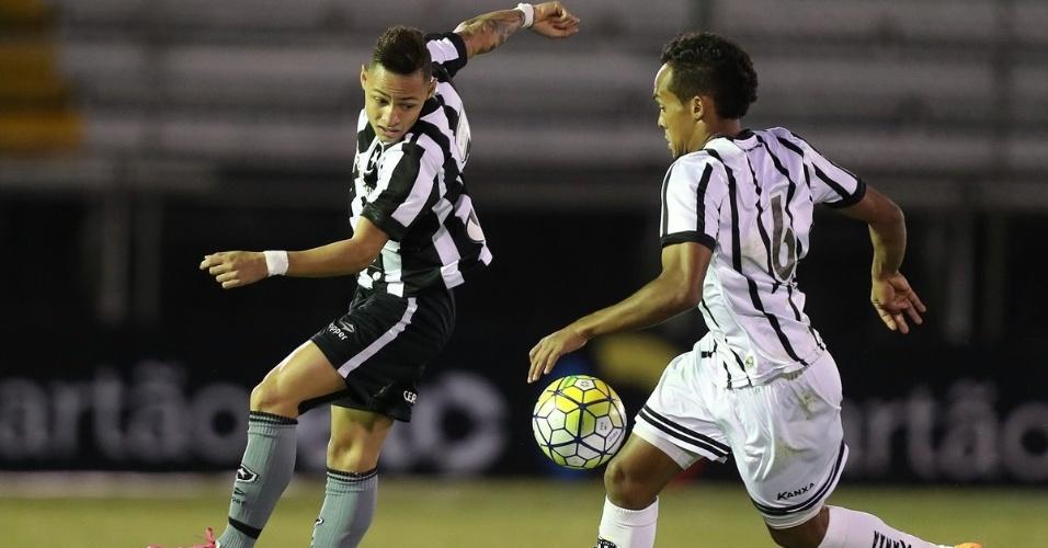 Botafogo e Bragantino se enfrentam na Ilha do Governador pela Copa do Brasil