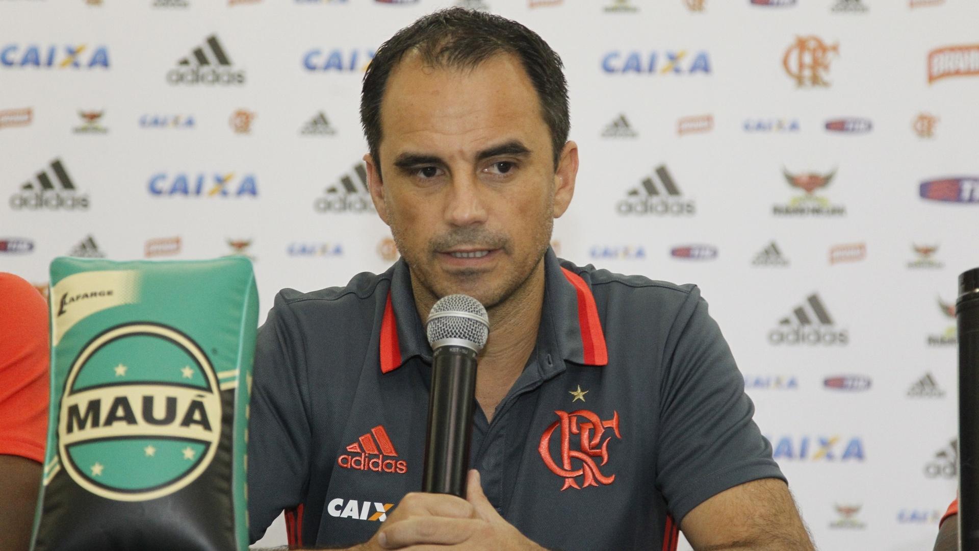 Rodrigo Caetano, diretor executivo de futebol do Flamengo