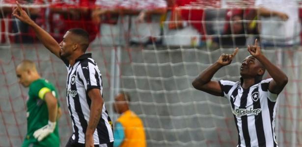 Sass� fez o gol do Botafogo
