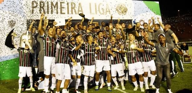Fluminense é o atual campeão da Primeira Liga