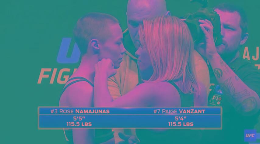 Encarada UFC
