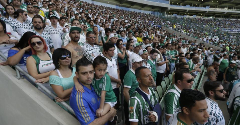 Em 34 jogos do Palmeiras, mais de 1 milhão de espectadores compareceram ao estádio