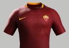 Roma lança uniforme para a temporada 2016/2-17 - Divulgação/Roma