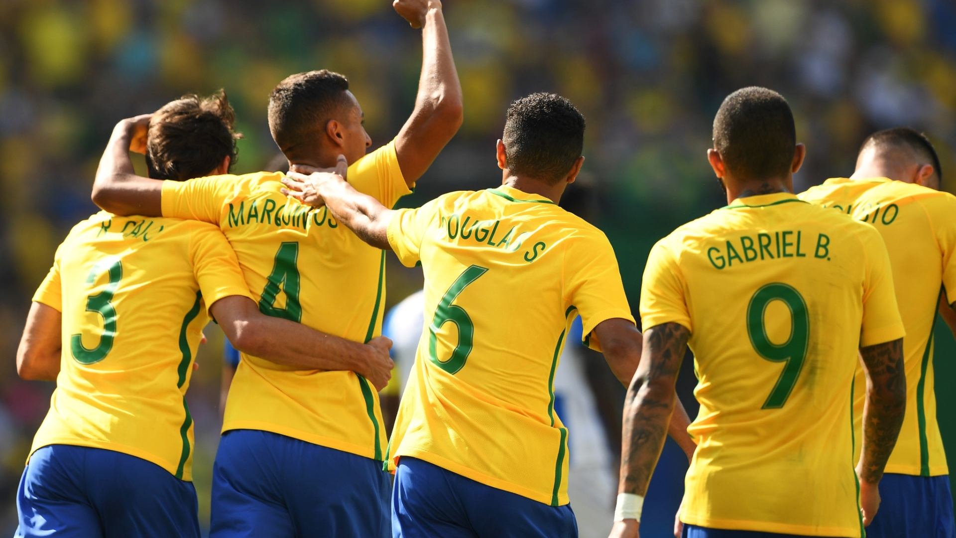 Marquinhos deixou sua marca e transformou a vitória em goleada