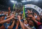 Grêmio leva golaço do Atlético-MG, mas vira o maior campeão da Copa do BR - JEFFERSON BERNARDES/AFP
