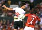 Rodrigo Caio lamenta empate, mas mostra confiança para o jogo de volta - AFP PHOTO / NORBERTO DUARTE