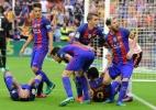 Valencia é multado por lançamento de garrafa em jogadores do Barcelona