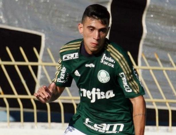 Kaue, atacante do Palmeiras
