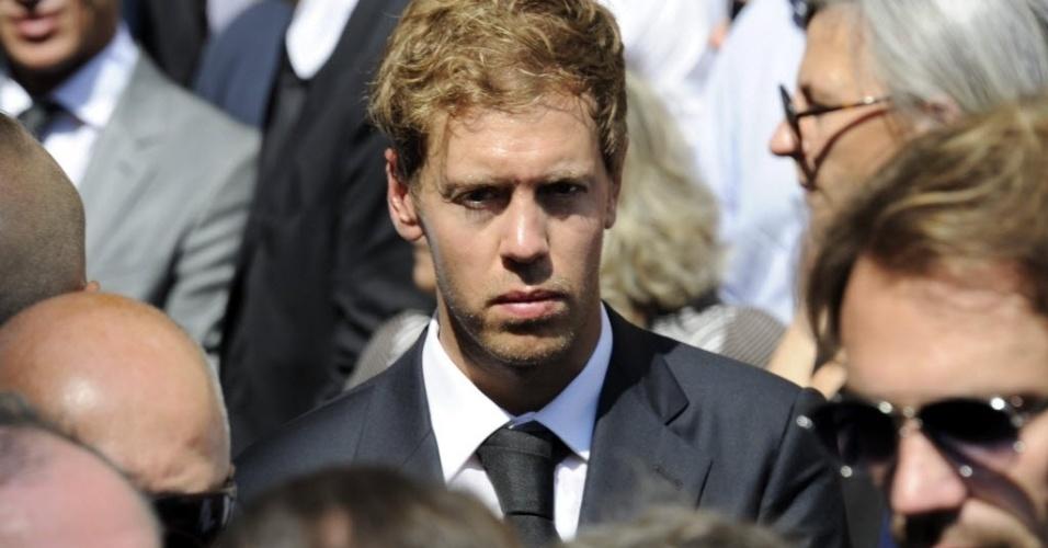 Sebastian Vettel prestou sua homenagem ao jovem piloto que faleceu em decorrência de acidente no Japão