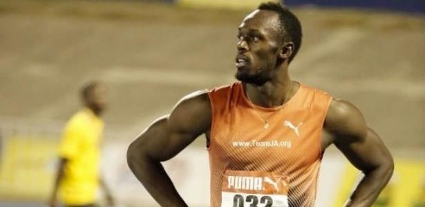 Bolt se lesiona e abandona seletiva
