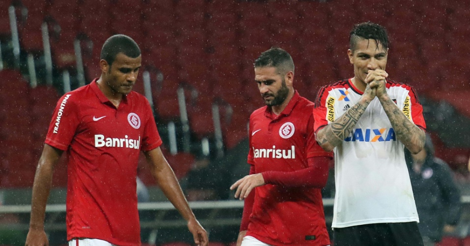 O atacante Paolo Guerrero teve uma brilhante estreia com a camisa do Flamengo