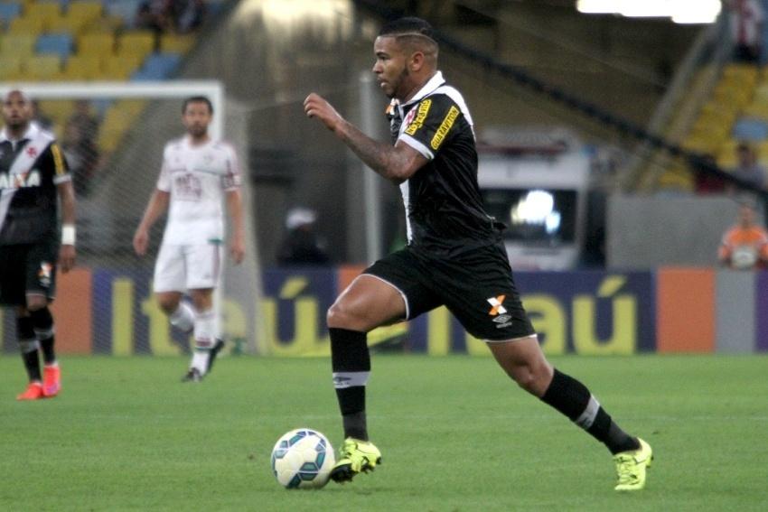Jhon Cley foi o autor do gol da vitória do Vasco sobre o Fluminense