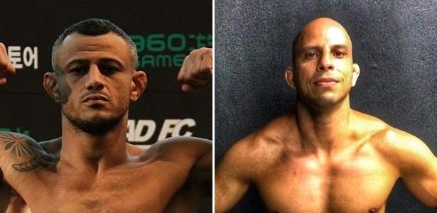 O lutador Marlon Sandro, que integra a equipe Nova União, foi interpretado pelo atleta Alex Gazé
