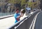 Australiano bate recorde mundial ao acertar cesta a 180m de altura - Reprodução