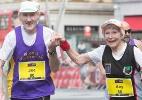 Casal de 80 anos terminou uma maratona junto. E não pensa em parar