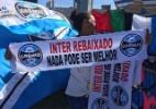 Faixas de Inter rebaixado dividem espaço com Grêmio campeão e fantasma da B - Jeremias Wernek/UOL