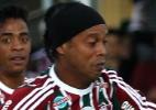 Ronaldinho descarta aposentadoria e projeta novo clube após Carnaval - NELSON PEREZ/FLUMINENSE F.C.