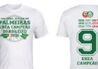Sem choro, nem cheiro: Palmeiras lança camisa do enea com provocação ao Fla - Palmeiras/Meltex Franchising