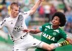 Chapecoense e Ponte fazem jogo agitado, empatam e perdem chance de embalar - MáRCIO CUNHA/MAFALDA PRESS/ESTADÃO CONTEÚDO