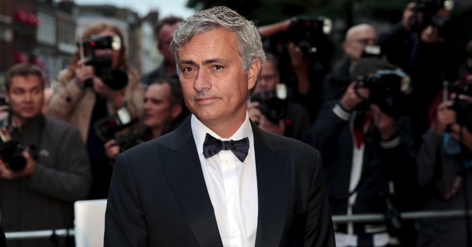 Mourinho compareceu ao evento nesta terça-feira, em Londres