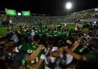 Clubes se mobilizam por luto e enviam representantes para Chapecó - Nelson Almeida/AFP