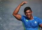 Isaquias Queiroz abandona final a 200 m do fim na Copa do Mundo de canoagem - SERGIO DUTTI/EXEMPLUS/COB