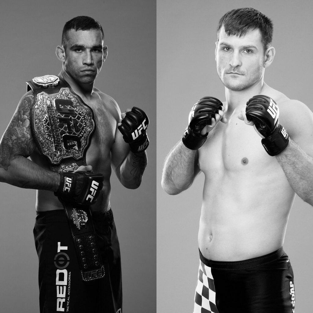 Dana White posta foto anunciando que Cain Velasquez se machucou e que Stipe Mioci vai enfrentar Werdum valendo o cinturão dos pesados