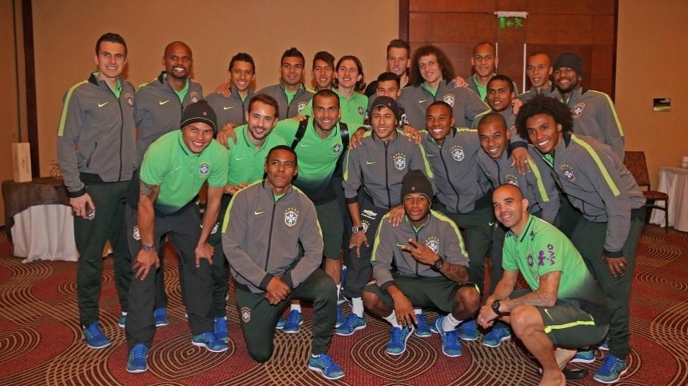 Neymar se despede do grupo da seleção após decidir deixar a concentração no Chile na Copa América