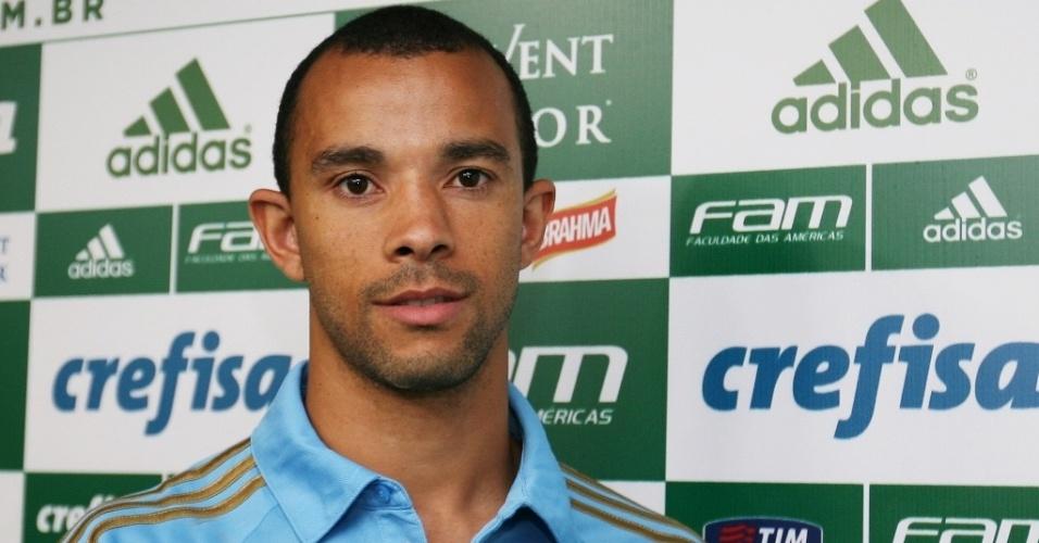 Roger Carvalho, zagueiro do Palmeiras que foi contratado após um ano de Botafogo
