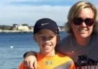 Menino de 10 anos apavora na corrida de rua e deixa até marmanjo para trás